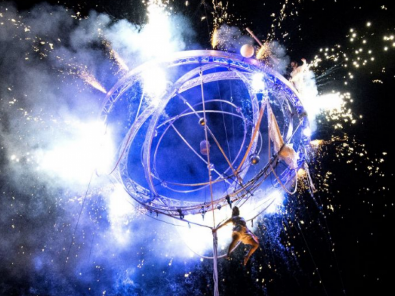 «Французька весна». На Софійській площі показали масштабне світлове шоу(ВІДЕО)