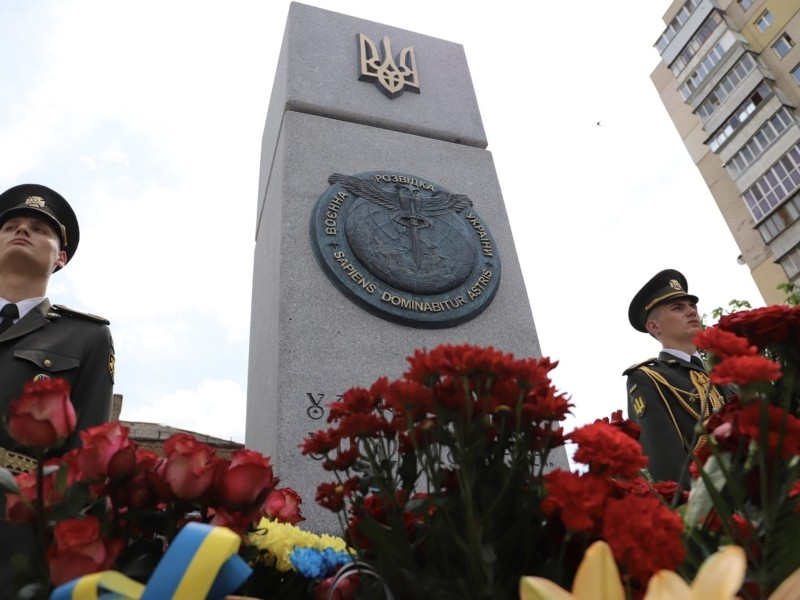 """На Солом'янці відкрили сквер на честь розвідника Максима Шаповала. Ділянку """"відвоювали"""" у забудовника"""