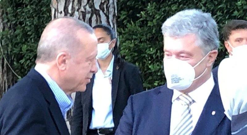 Партнерство для безпеки в Чорному морі. Порошенко зустрівся з Ердоганом