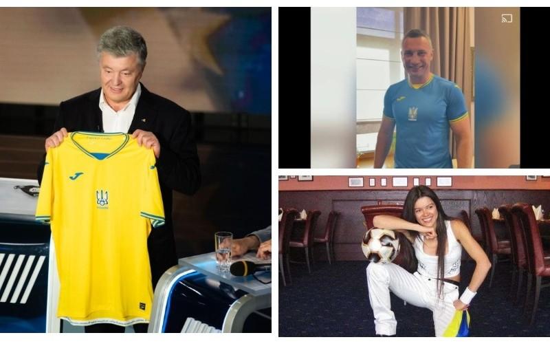 Євро-2020: Як вболівають за українську збірну знаменитості (ФОТО)