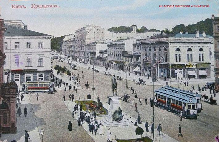 Відчути атмосферу старого Києва. Музей запрошує на віртуальну екскурсію Хрещатиком 1913 року