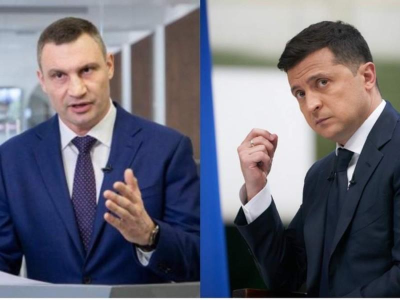 Кияни більше задоволені діяльністю мера Кличка, ніж президента Зеленського – цифри