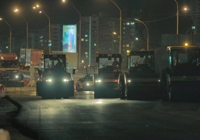 """Ремонт Кільцевої дороги """"переїжджає"""" на нову ділянку – рух обмежать до кінця жовтня"""