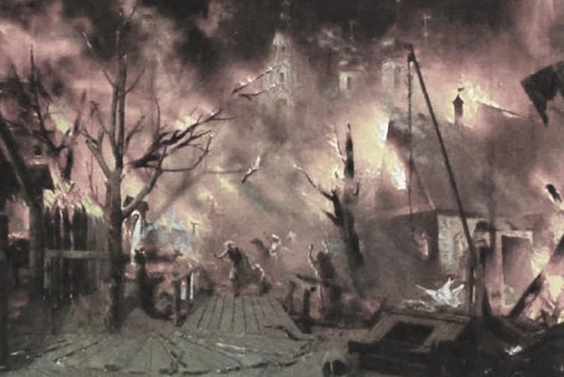 Пожежа на Подолі 1811 рік – Велика київська пожежа – Наполеон І – наполеонівська війна – Вітчизняна війна 1812 року – катастрофи Києва – трагедії Києва