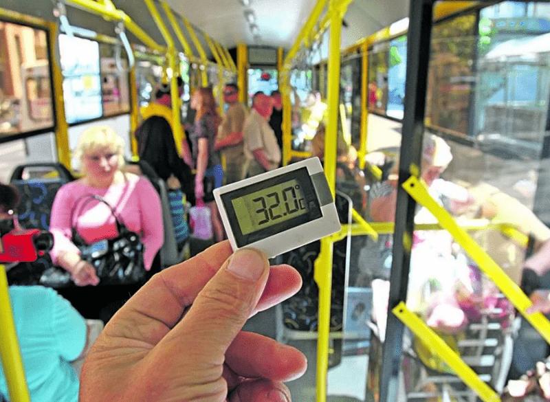 Пекло на колесах: тільки 60 київських тролейбусів з 457 мають кондиціонери