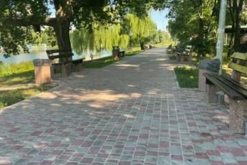 Рік в ремонті: районна влада показала як виглядає парк «Радунка»