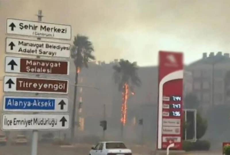 Улюблені курорти українців у вогні. Туреччину паралізували лісові пожежі (ФОТО, ВІДЕО)
