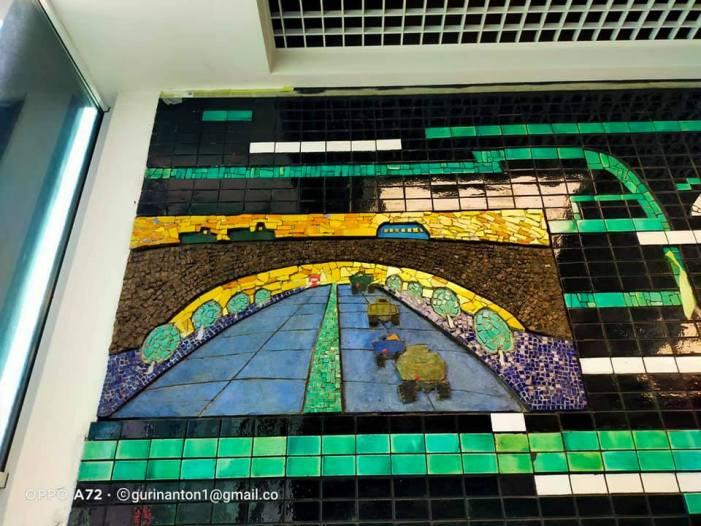 Мозаїкам Центрального автовокзалу присвятять виставку у Києві