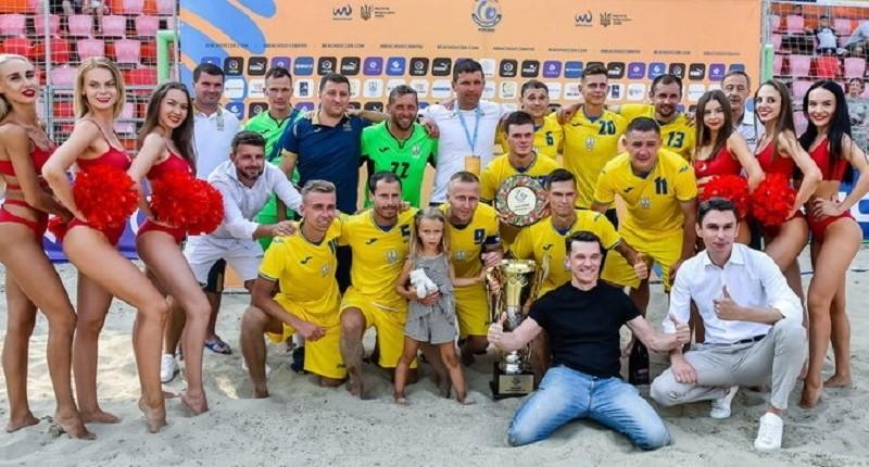 Іншій збірній з футболу пощастило більше. Пляжна збірна виграла Кубок незалежності 2021