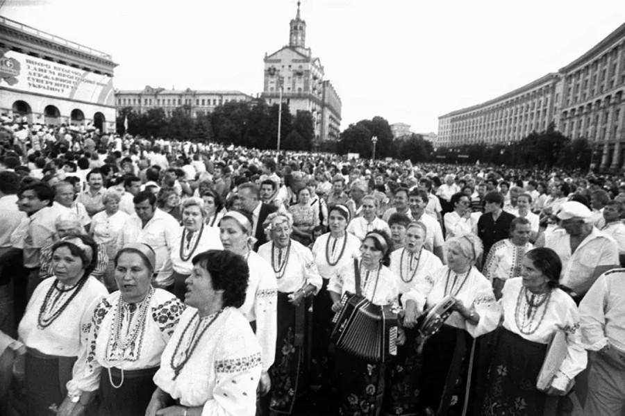 День Незалежності України – Акт незалежності – Леонід Кравчук