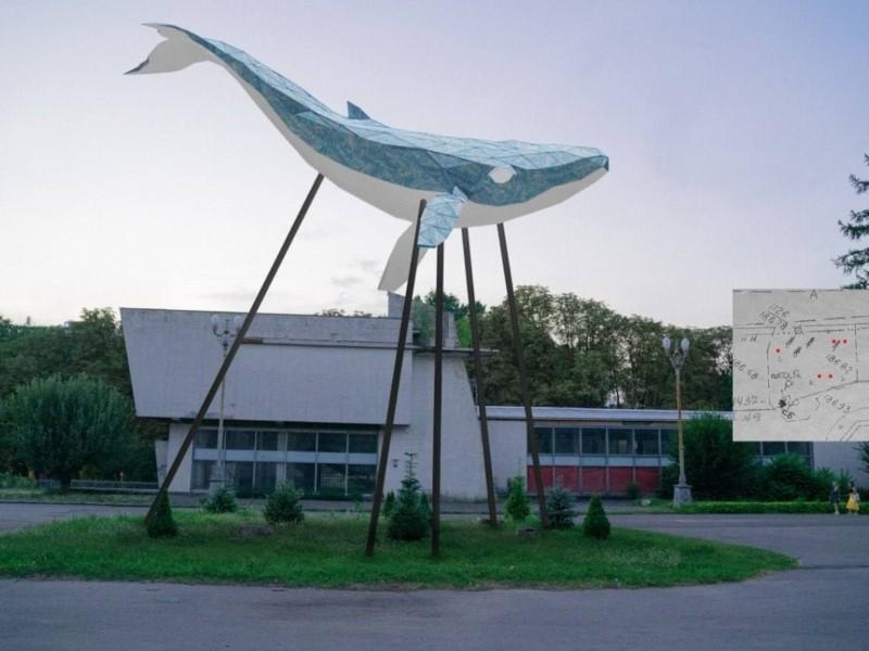 На ВДНГ з'явиться величезний кит з переробленого пластику – локація