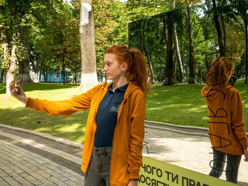 В Києві з'явились інтерактивні інсталяції про вакцинацію (ФОТО)