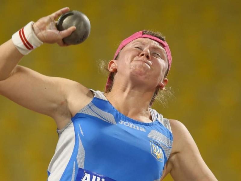 Пишаємось! Українська параатлетка встановила рекорд у штовханні ядра