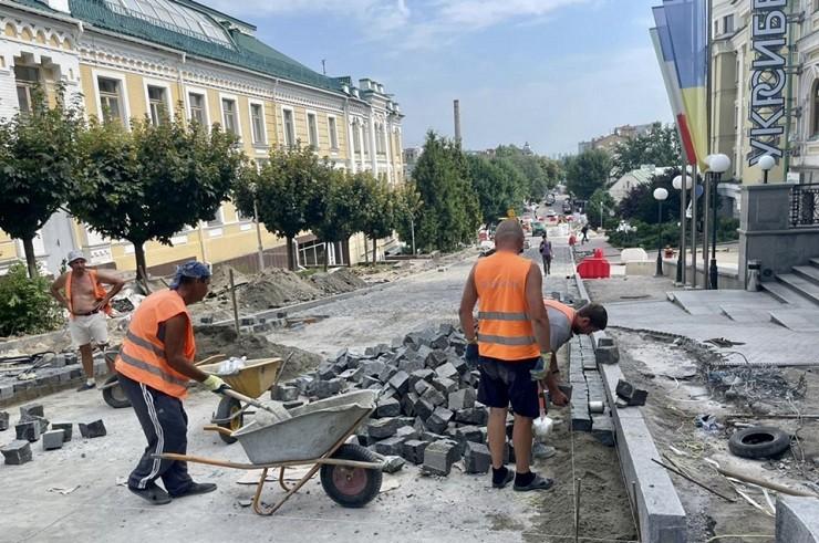 Новий етап реконструкції вулиці Андріївської: що буде зроблено