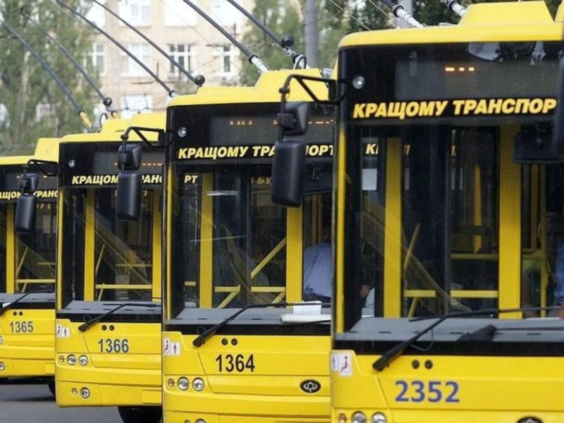 З 29 вересня до 9 жовтня кілька тролейбусних маршрутів зміняться – схеми