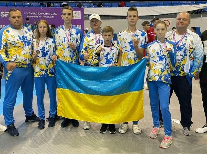 10 медалей привезли спортсменки Київщини з Всесвітніх учнівських спортивних ігор