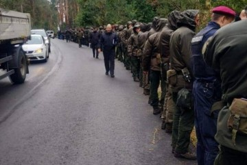 Купа силовиків та водолази: як шукають нападників на Сергія Шефіра (ФОТО)