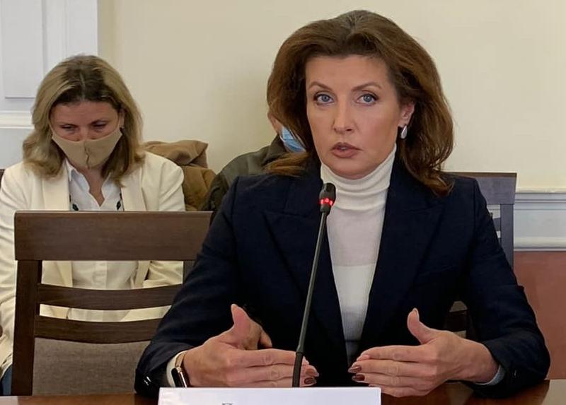 Марина Порошенко вимагає скасувати нещодавні зміни, які обмежили права дітей з інклюзією