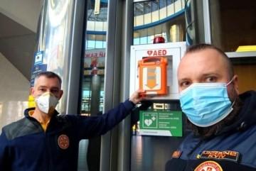 На залізничному вокзалі з'явились дефібрилятори – на майстеркласи з порятунку кличуть усіх охочих