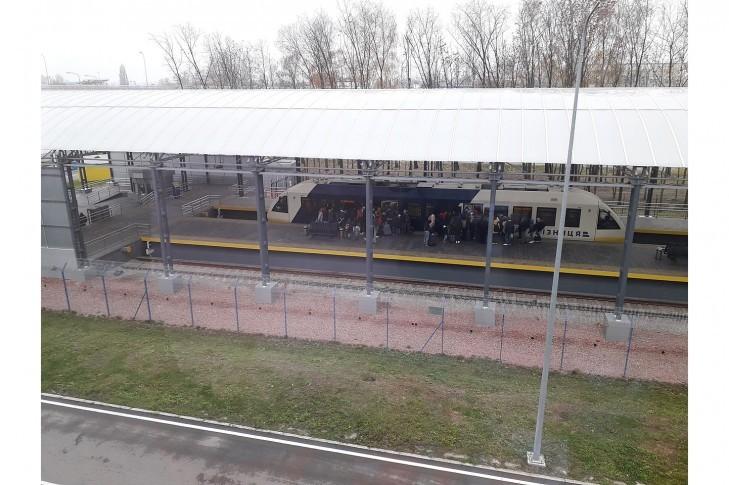 """Кияни просять організувати роботу Kyiv Boryspil Express до станції """"Почайна"""""""