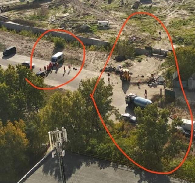 """Кличко наказав """"вигнати"""" забудовника на Микільській Слобідці: мешканці тримали оборону два дні (ВІДЕО)"""
