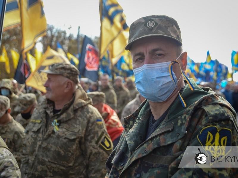 Києвом іде Марш захисників та захисниць (ФОТО)