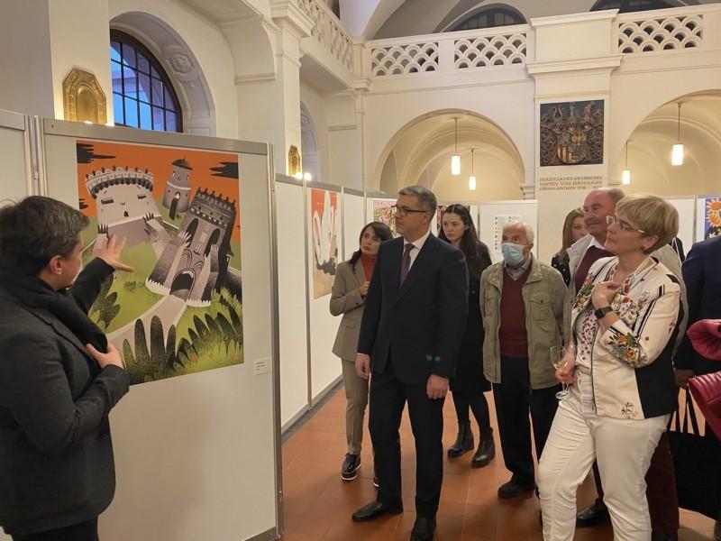 30 плакатів Києва. У Лейпцигу відкрили виставку, присвячену український столиці
