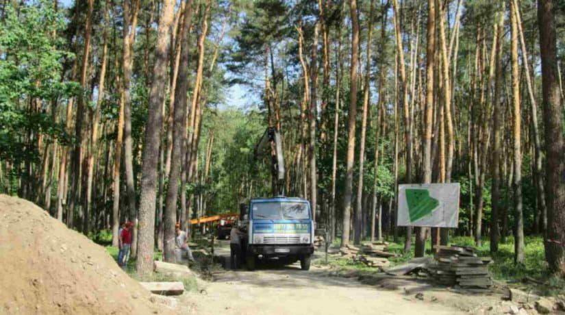 В парке «Совки» начался капитальный ремонт