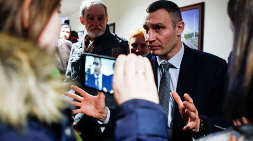 Кличко договорился с лидерами фракций провести сессию Киеврады 19 сентября