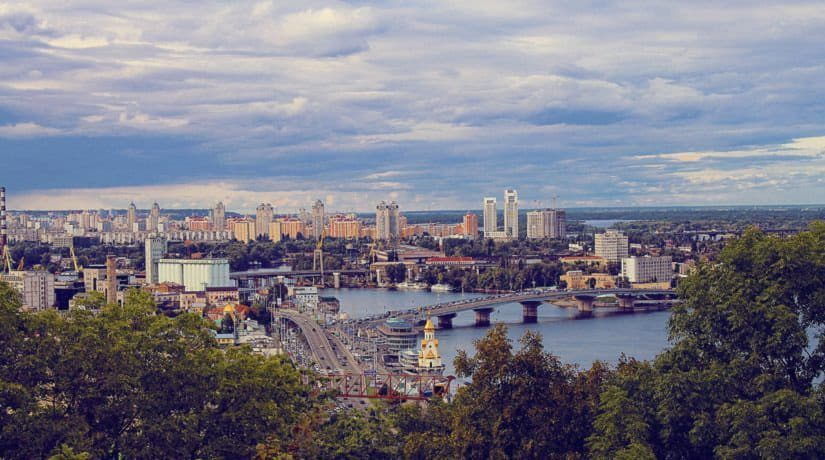 Киев глазами иностранца