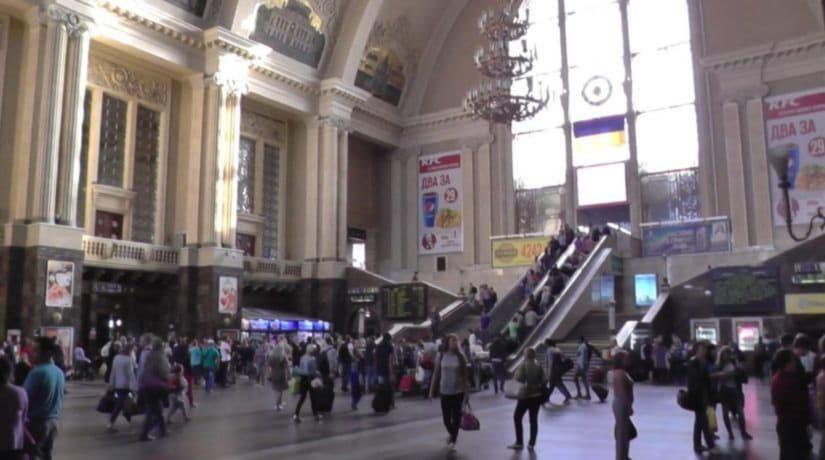 На ж/д вокзале состоится большой хоровой флешмоб