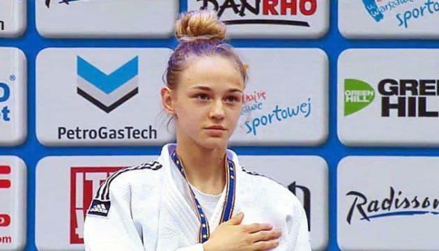 Украинская дзюдоистка Дарья Белодед впервые победила в турнире серии Grand Slam в Париже
