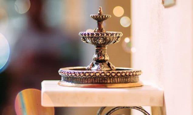На улице Владимирской появилась миниатюрная скульптура «Киевский фонтан»