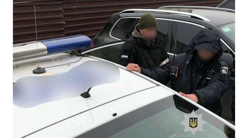 Инспектор патрульной полиции Киева уличен в вымогательстве и получении взяток
