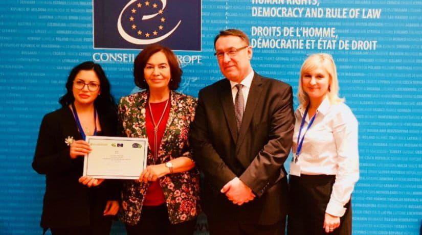 Киев получил награду «12 звезд» от Конгресса местных и региональных властей Совета Европы