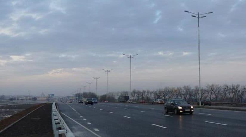 К концу года завершится реконструкция развязки на Киевском полукольце