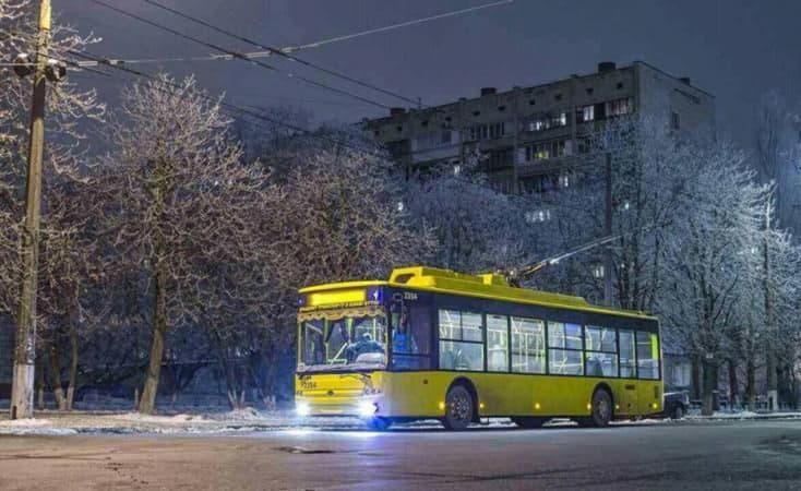 Ночные троллейбусы № 92н, 93н изменят маршруты движения