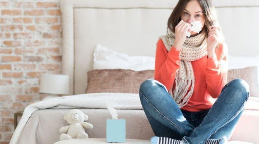 За неделю уровень заболеваемости гриппом и ОРВИ в Киеве снизился на 4,6%