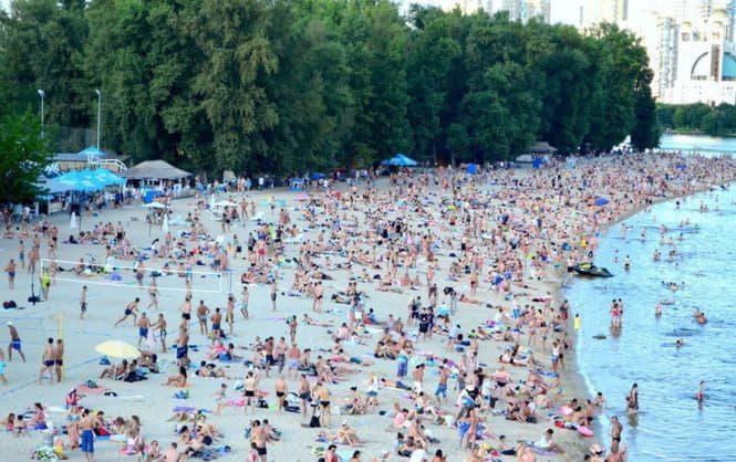 С началом сезона в Киеве планируется открыть 13 официальных пляжей