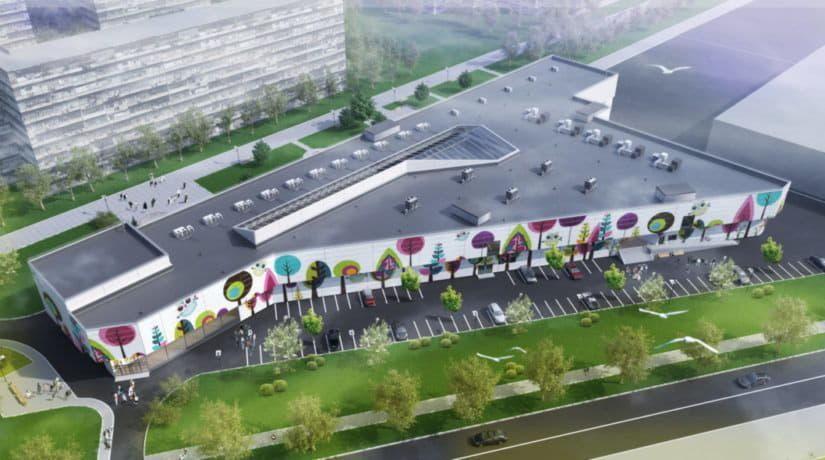 До конца 2019 года на Троещине будет построен новый торгово-развлекательный центр