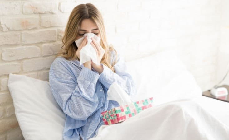 За неделю уровень заболеваемости гриппом и ОРВИ в Киеве снизился на 32%