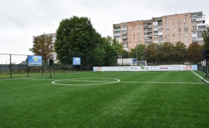 В 66 школах обустроят футбольные поля с искусственным покрытием
