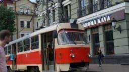 Движение трамвая № 14 временно закрывается