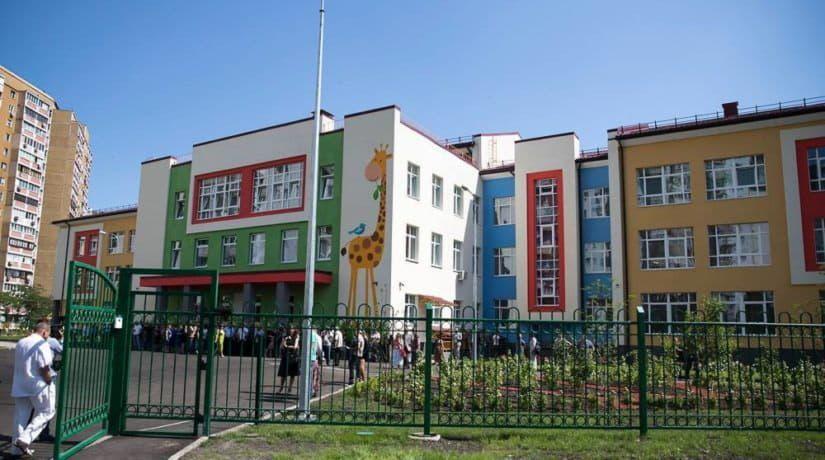 На улице Княжий Затон завершено строительство детского сада