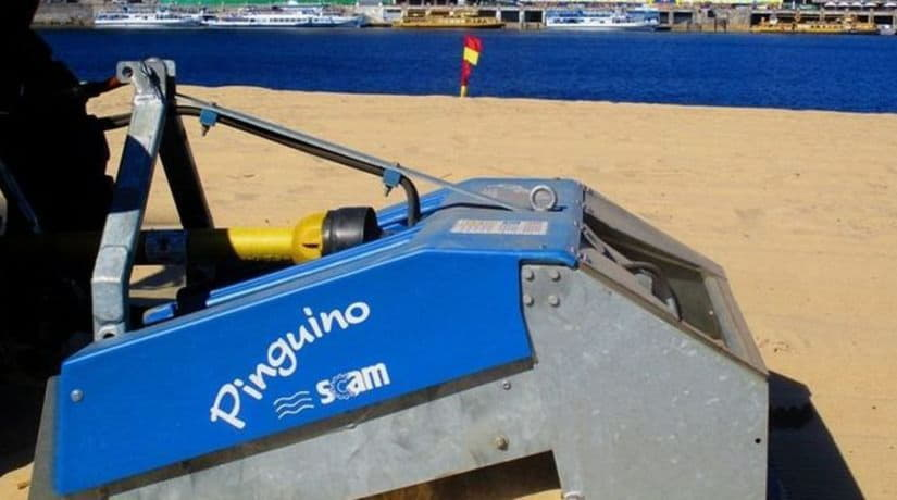 Очистка песка на городских пляжах осуществляется раз в неделю