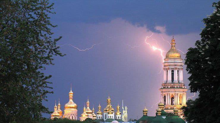 В Киеве до 13 июля ожидаются кратковременные дожди и грозы
