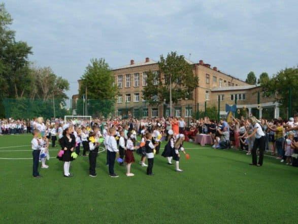 В Киеве открыли еще одно поле для игры в мини-футбол