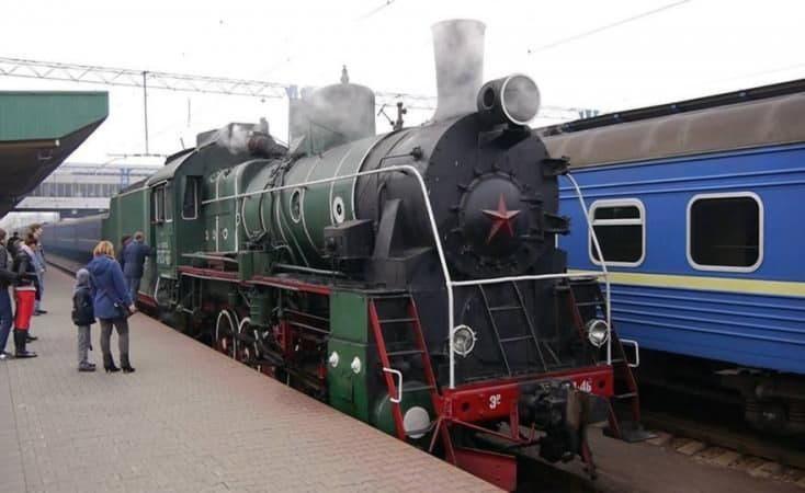 «Укрзализныця» приглашает покататься на ретро-поезде