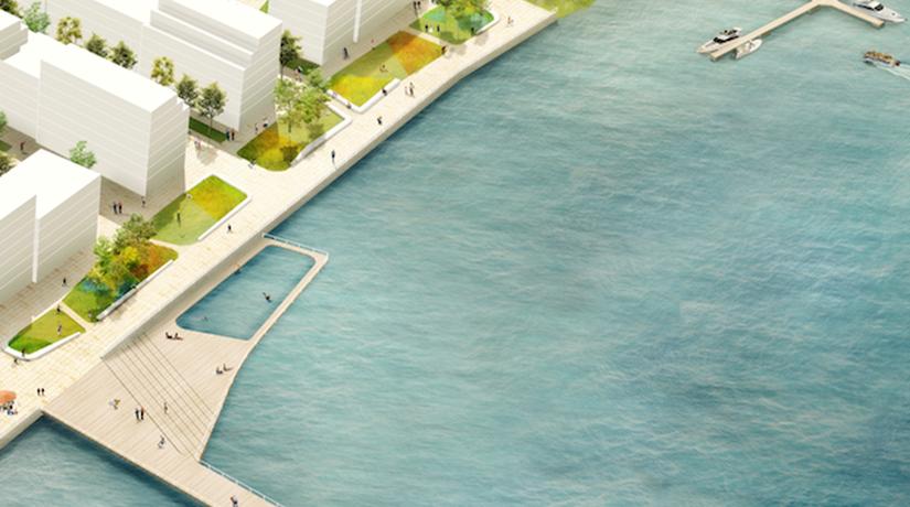 Бельгийская студия победила в конкурсе проектов по созданию концепции Нового Подола